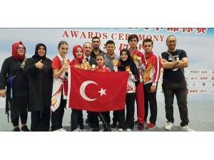 Kung Fu şampiyonasında Türk başarısı