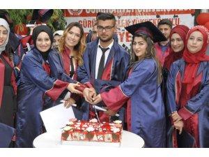 Gürün'de mezuniyet coşkusu