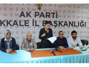 AK Parti Kırıkkale İl Başkanlığından Mursi açıklaması