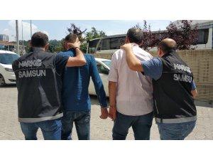 Samsun'da uyuşturucu ticaretine 3 tutuklama
