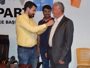 SP Hacılar Belediye Meclis Üyesi AK Parti'ye geçti