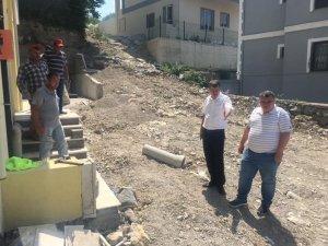 Yeni binalara kanalizasyon hattı