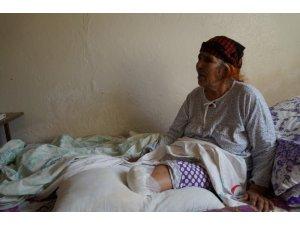Tedavisi gecikince kangren olan bacağı kesildi