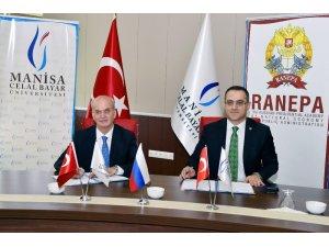 Manisa CBÜ'den Rusya ile akademik işbirliği