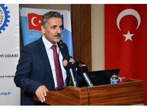 """Vali Kaymak: """"Türkiye AB standartları üzerinde de üretimler yapmakta"""""""