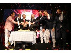 Konya'da Galatasaray'ın 22. şampiyonluğu kutlandı