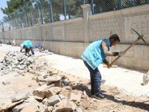 Eyyübiye'de hummalı çalışma devam ediyor