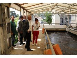 Başkan Gürün Turgutreis Arıtma projesini yerinde inceledi