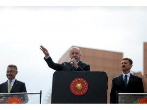 """Cumhurbaşkanı Erdoğan: """"Bu adayın sicili Sayıştay raporları ile tespitli şekilde bozuktur"""""""
