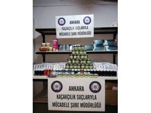 Ankara polisinden kaçakçılık operasyonu