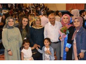 Sarıkamış BESYO ve MYO'da mezuniyet