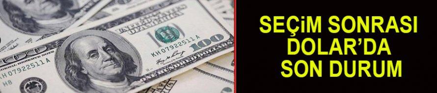 Seçim sonuçlarına Dolar'da son durum!
