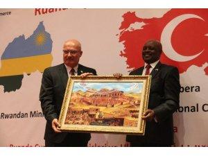 Ankara'da Ruanda ile İşbirliği Semineri düzenlendi