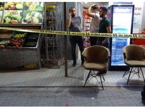 Sancaktepe'de markete silahlı saldırı: 1 ölü