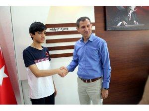 Midyatlı öğrenci LGS'de Türkiye birincisi oldu
