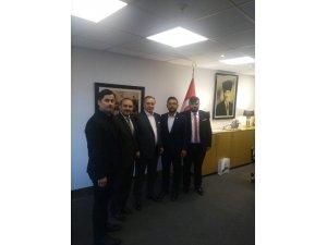 Kdz. Ereğli Galatasaray taraftarları Başkan Cengiz'le görüştü