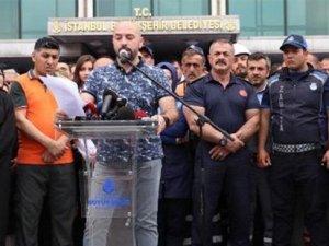 Bildiri okuyup protesto etmişlerdi! İmamoğlu karşıtı personel işten çıkarılacak mı?