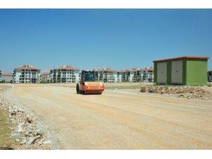 Karaman Belediyesinden yol yapım çalışmaları