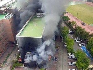 Guney Kore'de ilkokulda yangın: 2 yaralı