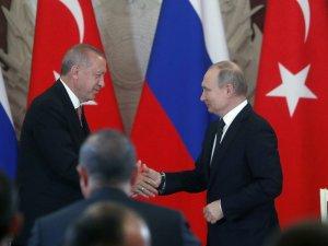 Erdoğan ve Putin, Osaka'da görüşecek
