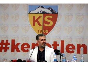 """Sedat Kılınç: """"Kayserispor'u AŞ boyutunda yönetmeye talibiz"""""""