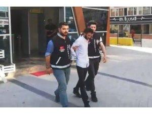 Hayali konteyner satıcısı tutuklandı
