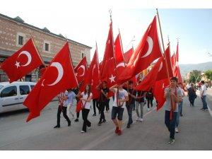 Atatürk'ün Tokat'a gelişinin 100. yıl dönümü törenle kutlandı