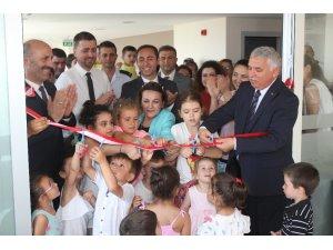 Tekirdağ'da 0-3 yaş bebek kütüphanesi açıldı
