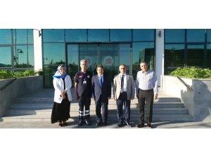 Vali Yardımcısı Güney ve İl Sağlık Müdürü Benli'den 112 Acil Çağrı Merkezine Ziyaret
