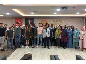 Erzincan Barosundan stajyer avukatlara staj eğitimi