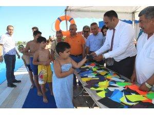 """Yılmaz: """"Mersin'de milli yüzücüler yetiştirmek istiyoruz"""""""