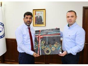 ADÜ Teknokent Müdürü Doç. Dr. Cemal İyem'den Rektör Aldemir'e ziyaret