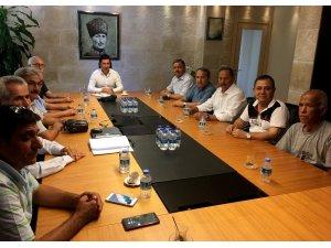 Ziraat Odası Başkanlarından Başkan Aras'a ziyaret