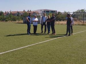 Fırat Üniversitesi sentetik sahası incelendi