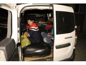 Tekirdağ'da 64 kaçak göçmen yakalandı