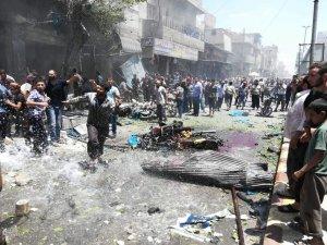 El Bab'da bomba yüklü motosikletle saldırı: 2  ölü