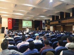 Siirt'te Müftülük personellerine 'Narko-Rehber' eğitimi verildi