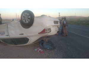 Bünyan'da kaza: 2 yaralı