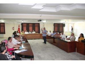 Bitlis Belediye personeline 'Stratejik Plan Eğitimi' verildi