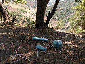 Teröristlerin tuzakladığı mayınlar imha edildi