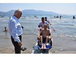 Muğla'da engelliler için 9 ilçeye 14 engelsiz plaj