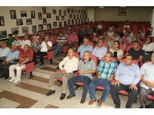 Devrek Tarım İlçe Müdürlüğünden Devrekli çiftçilere bilgilendirme toplantısı