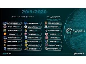 Basketbol Şampiyonlar Ligi'nde yer alan Türk takımlarının rakipleri belli oluyor
