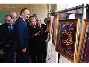 'Edirne'de Yaşamış Osmanlı Padişah Tuğraları' sergisi açıldı