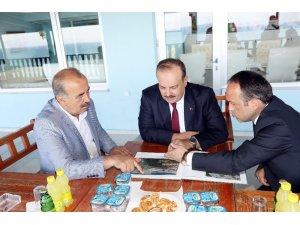 """Canpolat: """"Mudanya'daki tarihî değerlerimizi yaşatacağız"""""""