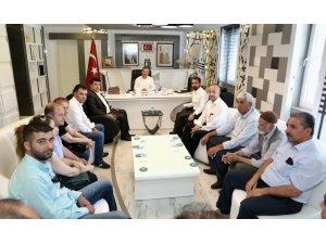 CHP il yönetimi, Başkan Kılınç ile bir araya geldi