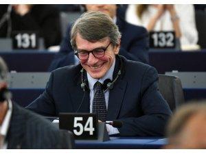 AP'nin çiçeği burnunda Başkanı Sassoli'den ilk açıklama