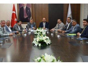 Şanlıurfaspor'a yapılabilecek mali destek istişare edildi