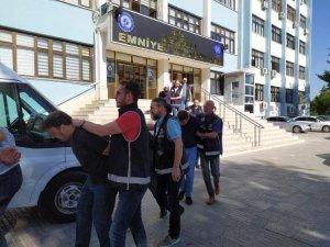 1 milyon TL'lik vurgun yapan bahis çetesinin 10 üyesi tutuklandı