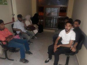 Hatay'da 16 düzensiz göçmen yakalandı